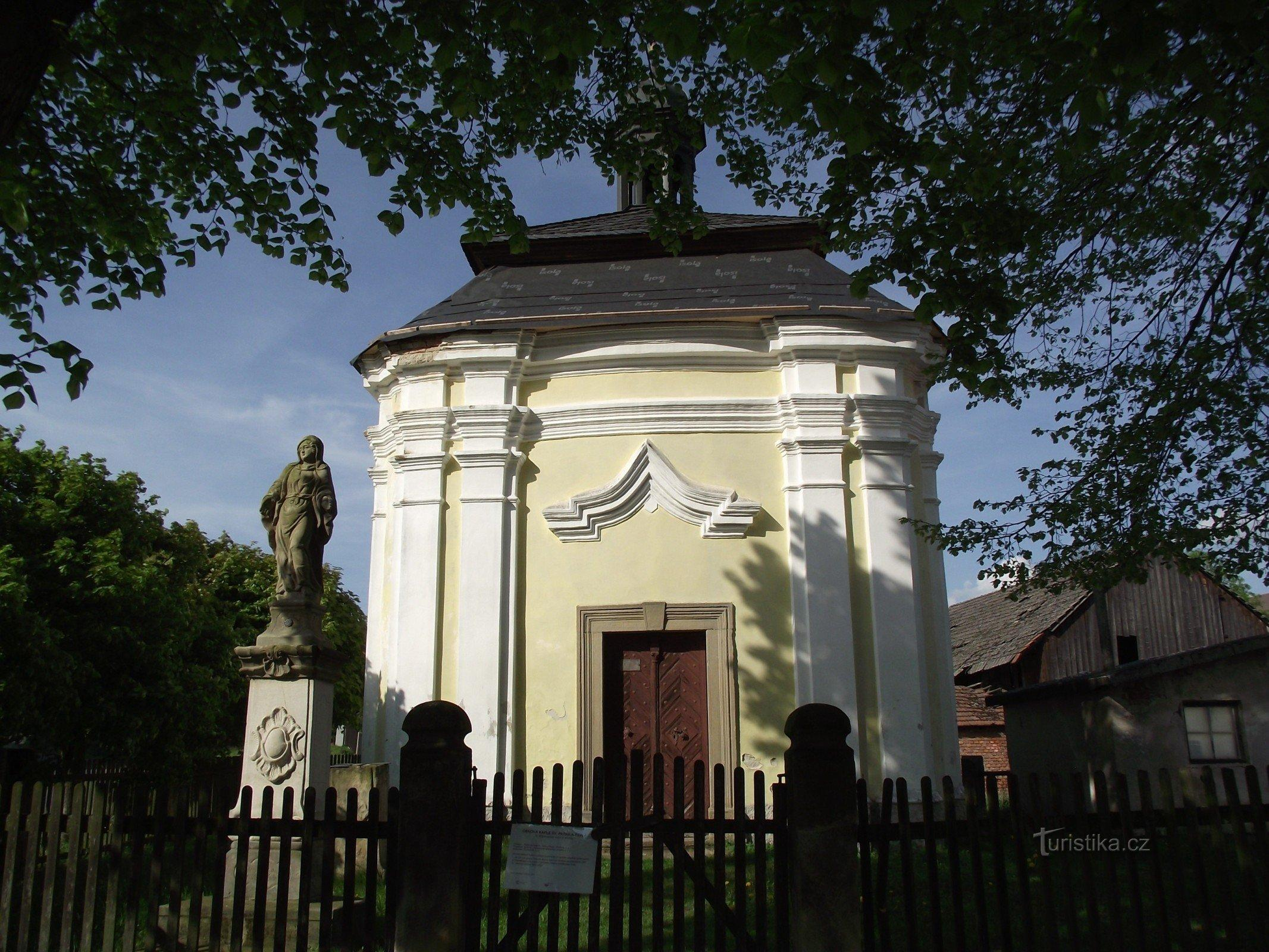 Příchvoj – kaple sv. Petra a Pavla