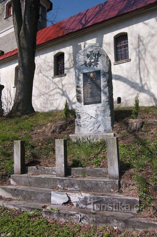 Prostřední Lipka - kostel Neposkvrněného Početí Panny Marie