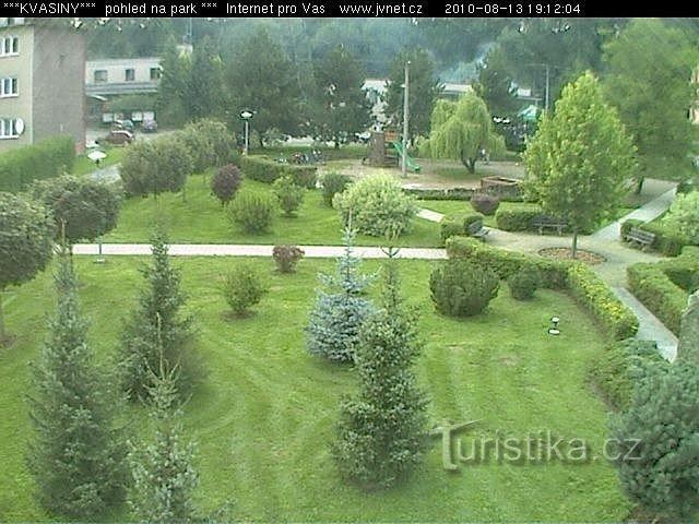 Webkamera - Kvasiny