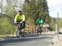 Cyklostezka ze Slavonic do Rakouska