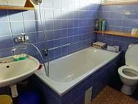 Koupelna - chalupa k pronajmutí Nový Jimramov