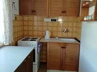 Kuchyň - chalupa ubytování Nový Jimramov