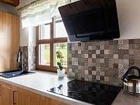 kuchyň - chalupa ubytování Kameničky