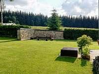 Chalupa Svratka - zahrada -