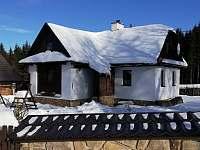 Chalupa Svratka - zima - k pronájmu