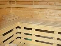 Hotelová sauna - apartmán k pronájmu Sázava