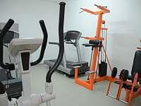 Hotelové fitness - pronájem apartmánu Sázava