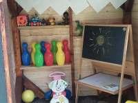 domeček pro děti - chata k pronajmutí Větrný Jeníkov