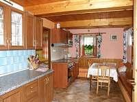 kuchyň - pronájem chaty Větrný Jeníkov