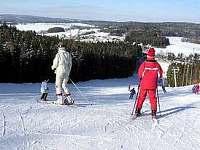 nedaleký lyžařský areál ŠACBERK - Větrný Jeníkov