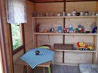 Dětský domeček - chata k pronájmu Skála u Havlíčkova Brodu