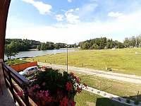 Pohled z balkónu ložnice č.2 - Skála u Havlíčkova Brodu