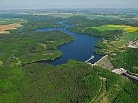 Letecký snímek - Kramolín