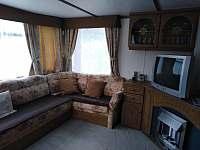 obývací pokoj Siesta - chata k pronájmu Kramolín