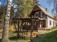 Chata k pronájmu - dovolená Koupaliště Černovice- Klínot rekreace Pelhřimov - Čakovice