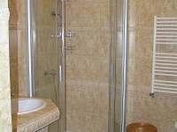 Koupelna - chalupa k pronájmu Tři Studně