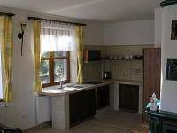 Kuchyňka - chalupa k pronájmu Tři Studně