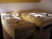 Ložnice 2 + 1 - chalupa ubytování Tři Studně