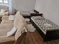 Velký apartmán - obývací pokoj - ubytování Vříšť