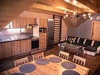 Společenská místnost v podkroví - Vlachovice