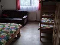 Ložnice 1 - pronájem chalupy Pacov