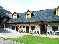 Uzavřený dvůr - ubytování Sádek u Poličky