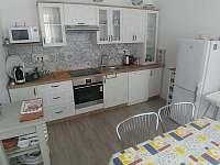 kuchyň - rekreační dům ubytování Telč