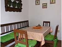 kuchyně2019 - pronájem chalupy Obrataň - Bezděčín