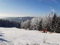 Sjezdovka Čeřínek, horní část - Mirošov