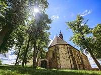 Kostel sv. Víta - pronájem apartmánu Jemnice