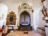 oltář kostela Sv. Víta - Jemnice