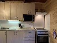Kuchyňka - chata k pronajmutí Březí nad Oslavou