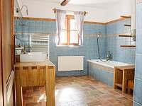 Koupelna - chalupa k pronajmutí Proseč - Záboří