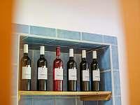 Nabídka vín - pronájem chalupy Proseč - Záboří