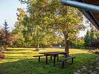 zahrada - chalupa ubytování Proseč - Záboří