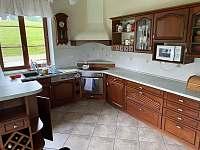 Kuchyňská linka - pronájem apartmánu Sněžné - Blatiny