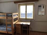 Ložnice 2 - pronájem chalupy Krucemburk