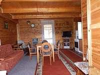 obývací pokoj - chata k pronájmu Bělá - Tasice