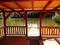 Pohled z terasy - chata k pronajmutí Bělá - Tasice