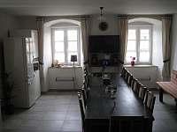 Společenská místnost - chalupa k pronajmutí Krucemburk - Staré Ransko