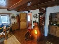 Pokoj 1 celkový pohled - chalupa ubytování Proseč