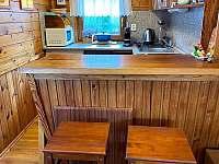 bar u kuchyně - chata k pronájmu Kraskov