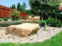 největší bonus naší zahrady - chata k pronajmutí Kraskov