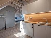 Kuchyňka - pronájem apartmánu Blatiny