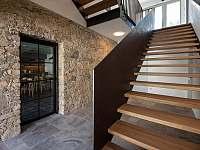 Schodiště - apartmán ubytování Blatiny
