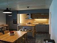 Společná kuchyň - apartmán k pronájmu Blatiny