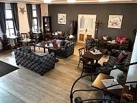 Interiér kavárny - ubytování Pacov