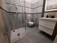 Koupelna - ubytování Pacov