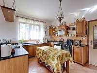 Kuchyně - pronájem chalupy Prosetín u Bystřice nad Perštejnem