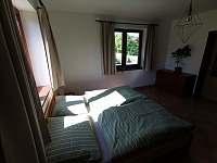 Ložnice v přízemí - Prosetín u Bystřice nad Perštejnem